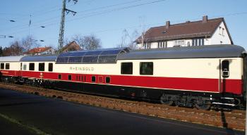 Panoramawagen im TEE Rheingold