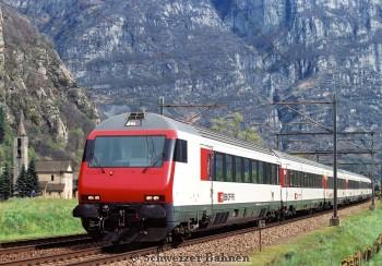 Gotthardschnellzug Südrampe