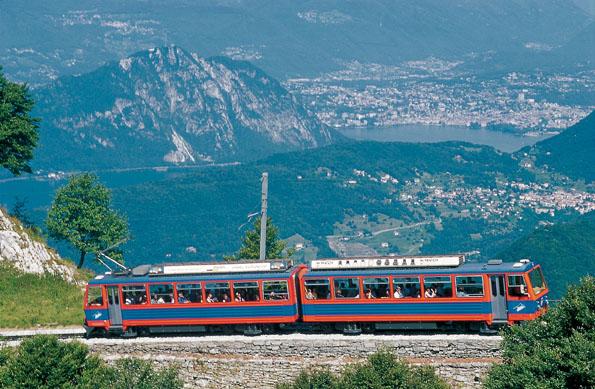 Monte Generoso Zahnradbahn