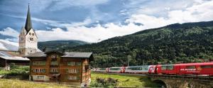 Bild: Glacier Express ab/bis Grenze