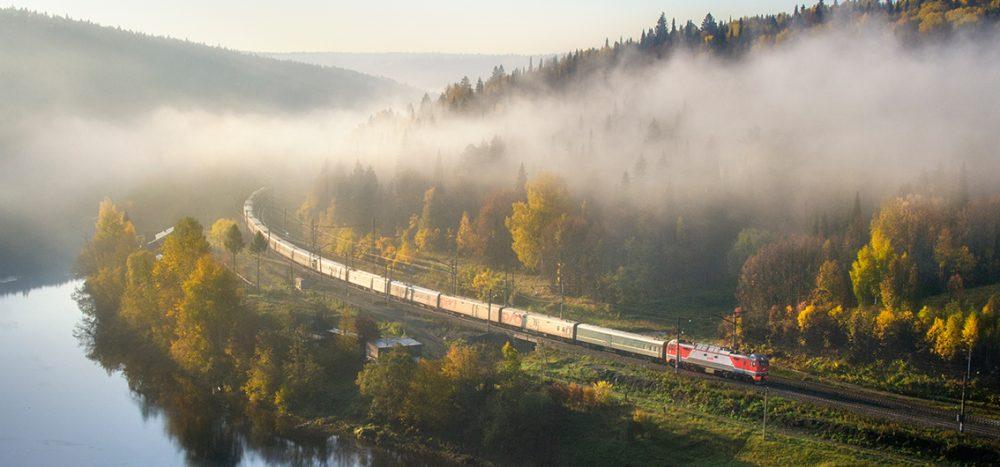 Bild für Transsib im Linienzug Die klassische Route der Transsibirischen Eisenbahn