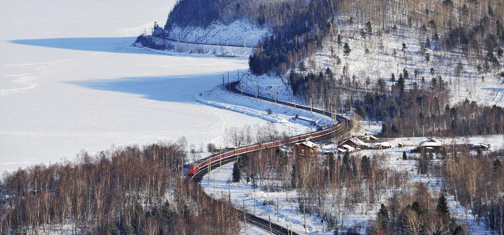 Bild für Silvester und Neujahr auf der Transsib Winterträume auf der Transsibirischen Eisenbahn - Ein russisches Wintermärchen