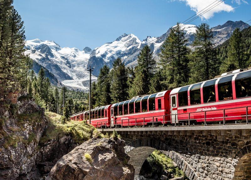 Bild für Bernina Express - Tagesfahrt - ab/bis St. Moritz
