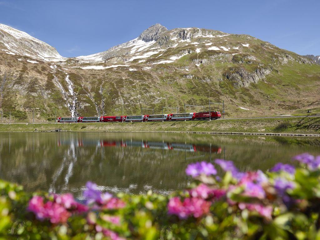 Bild für Gletscher & Palmen I - ab/bis St.Moritz