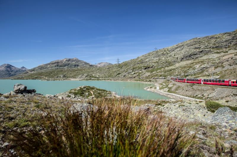 Bild für Bernina Express am Lago Bianco (C)RhB_AndreaBadrutt