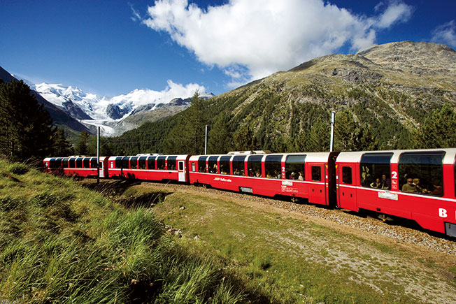 Bild für Bernina Express & Chur erleben