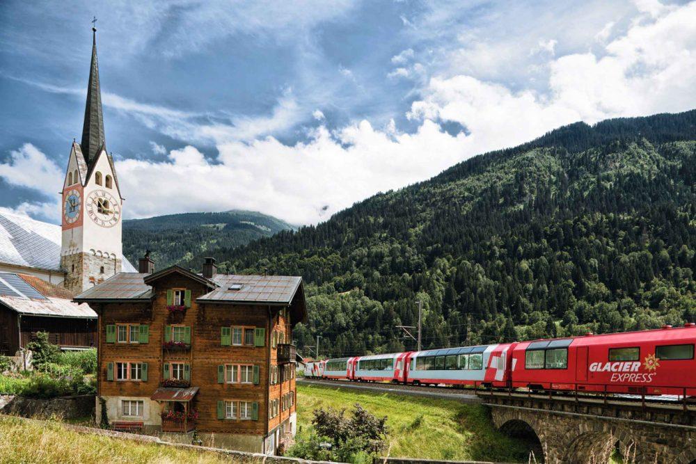Bild für Glacier Express 'retour' - St.Moritz-Zermatt-St.Moritz
