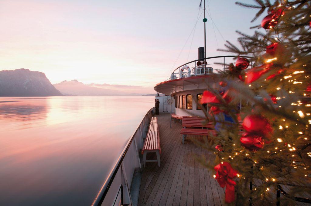 Bild für Festtagsschiff auf dem Vierwaldstättersee (C)SGV