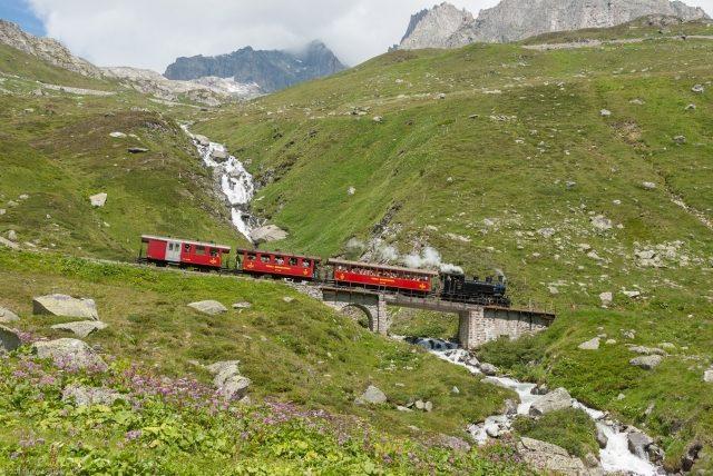 Bild für Dampfbahn Furka-Bergstrecke (C)JürgBolliger
