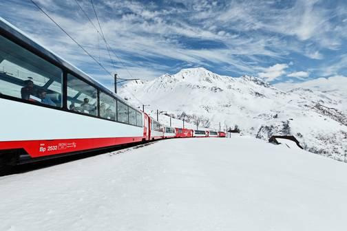 Bild für Kurzreise im Glacier Express St. Moritz - Zermatt