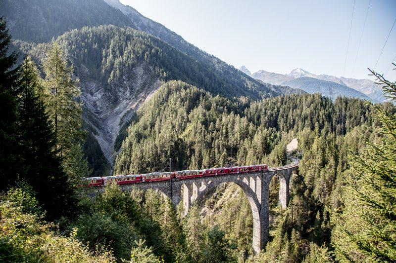 Bild für Wiesener Viadukt (C)RhB/AndreaBadrutt