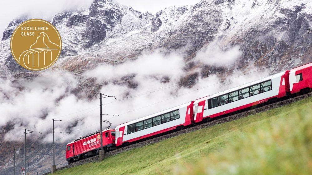 Bild für Glacier Express am Oberalppass (C)MGB