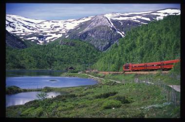 Bild für Bergenbahn Oslo - Bergen