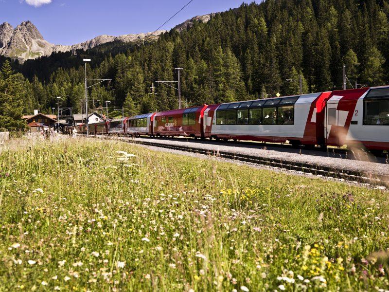 Glacier Express Frühjahr