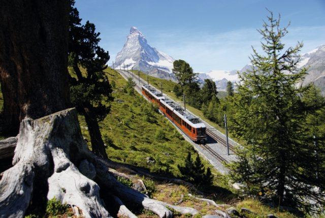 Gornergratbahn in Zermatt (C)GGB