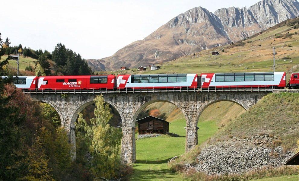 Disentis Glacier Express