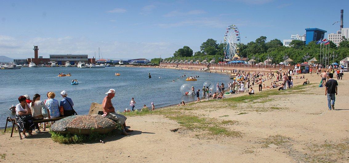 Strand von Wladiwostok