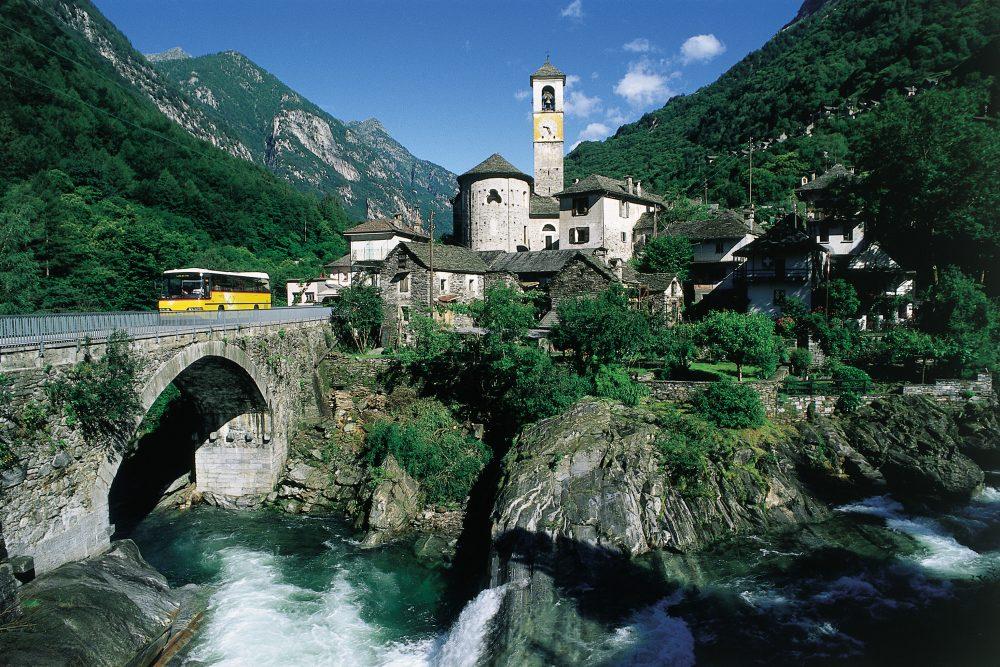 Valle Verzasca © Schweiz Tourismus