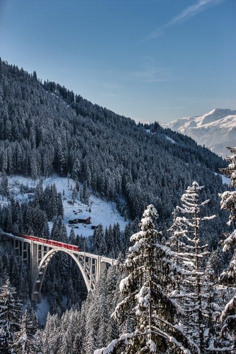 Langwieser Viadukt (C)RhB
