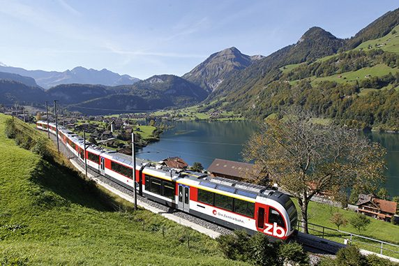 Golden Pass - mit der Zentralbahn über den Brünigpass