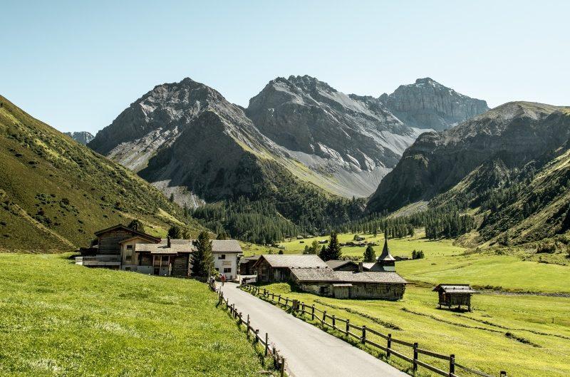 Sertig Dörfli (c) Schweiz Tourismus Ivo Scholz