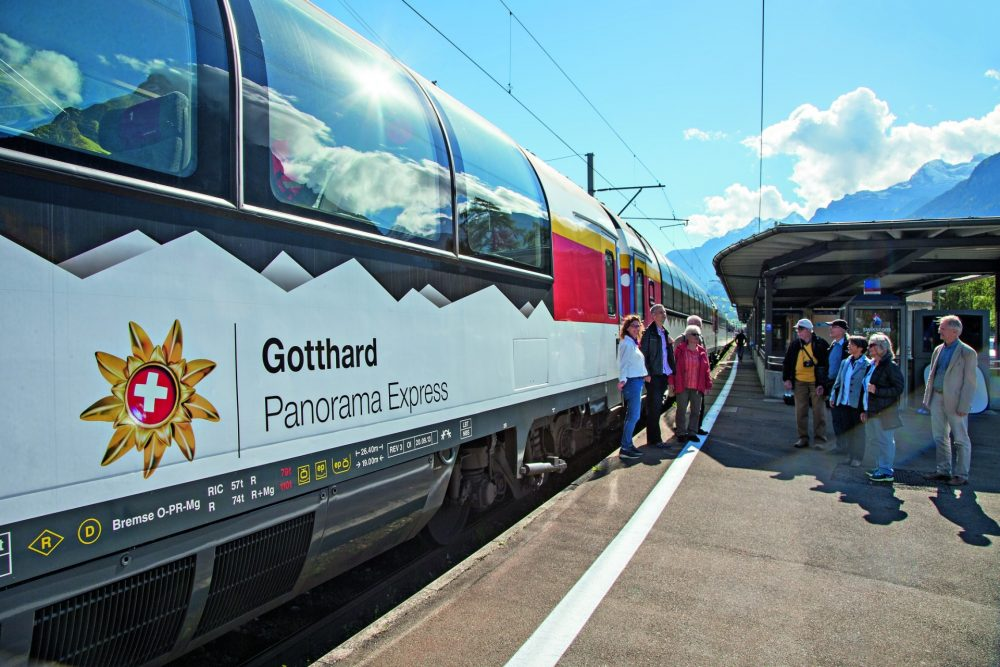 Panoramawagen Gotthard Panorama Express