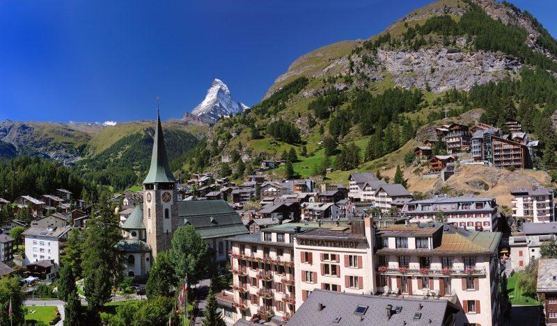 Bergsteigerdorf Zermatt