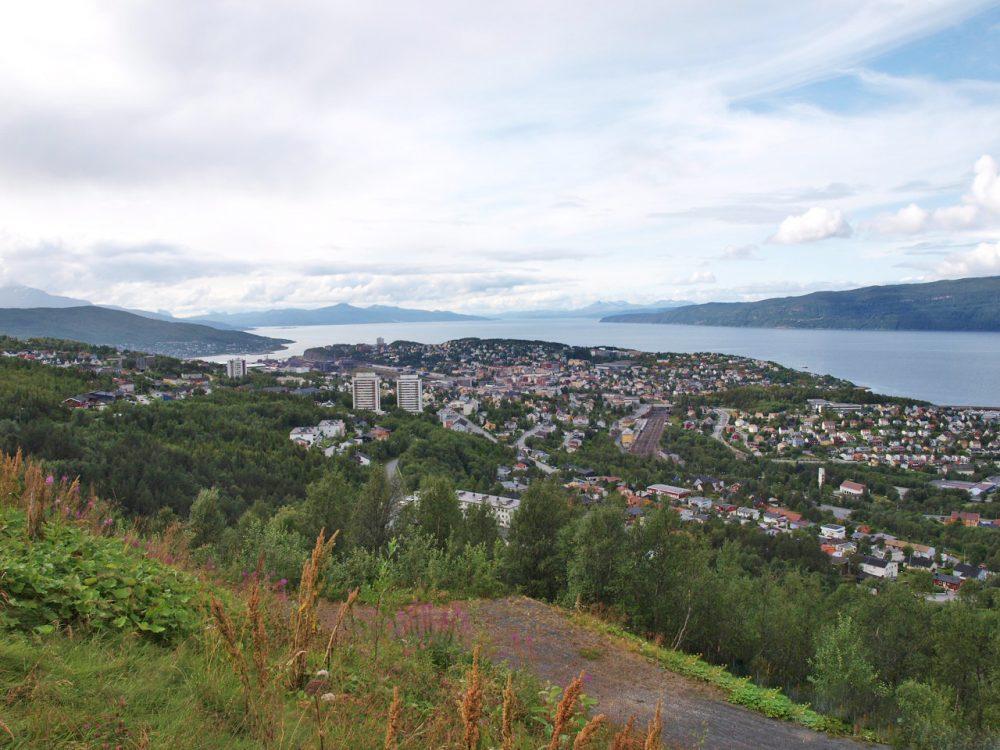 Blick auf Narvik © K. H. Drewes