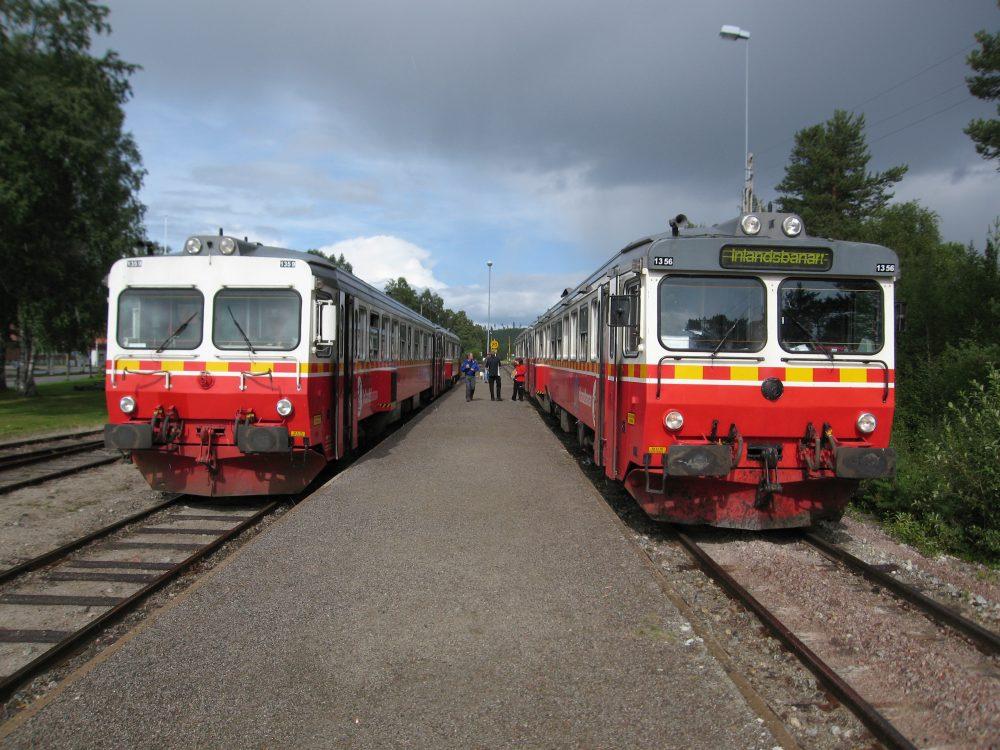 Zugtreffen bei der Inlandsbahn © EBTI