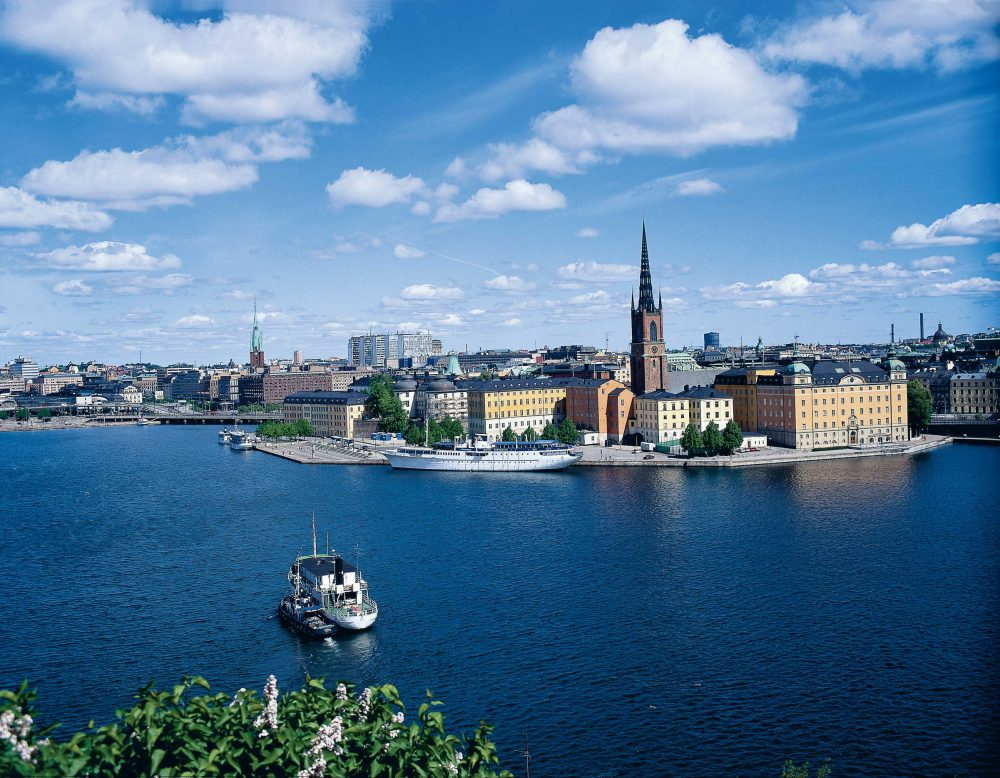 Blick über Stockholm © SRG