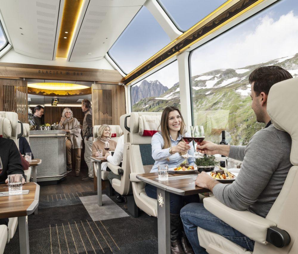 Deluxe Reisen - die neue Excellence Class (C)glacierexpress