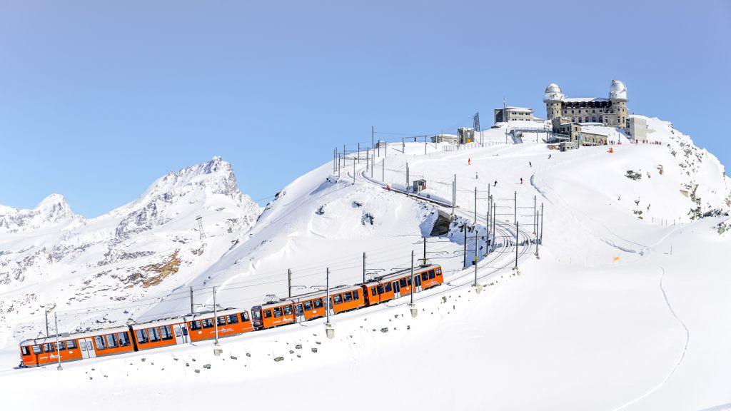 Gornergrat im Winter (C)GGB
