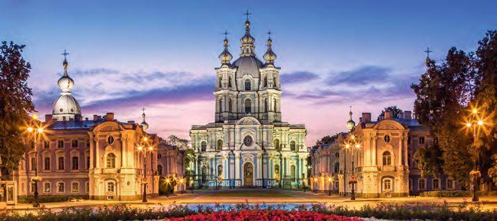 Smolny-Kathedrale in St. Petersburg