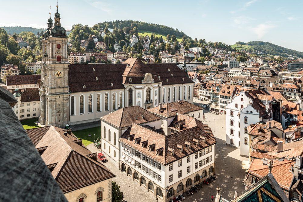 Altstadt St. Gallen © Schweiz Tourismus Andre Meier