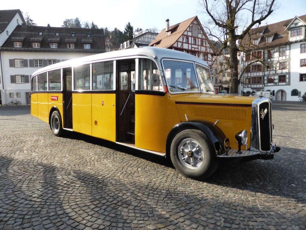 Oldtimer-Fahrzeug © St. Gallen - Bodensee Tourismus