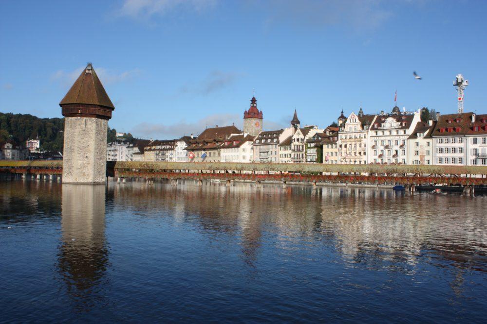 Luzern mit Kapellbrücke © Matthias Costa