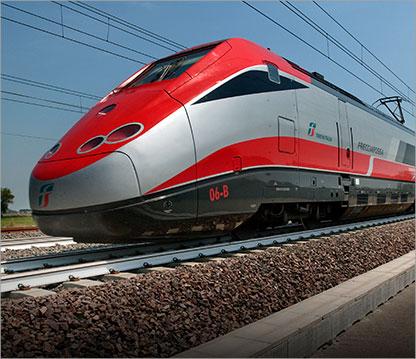 """ETR 500 """"Frecciarossa"""" © Trenitalia"""