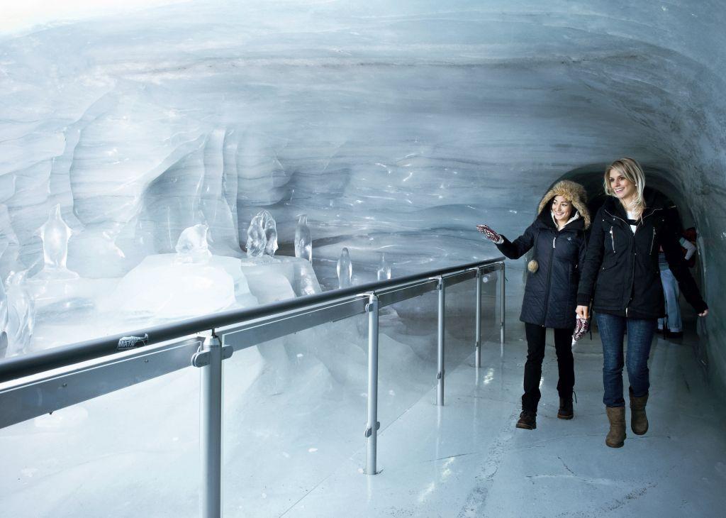 Gletscherpalast Jungfraujoch (C)Jungfraubahn
