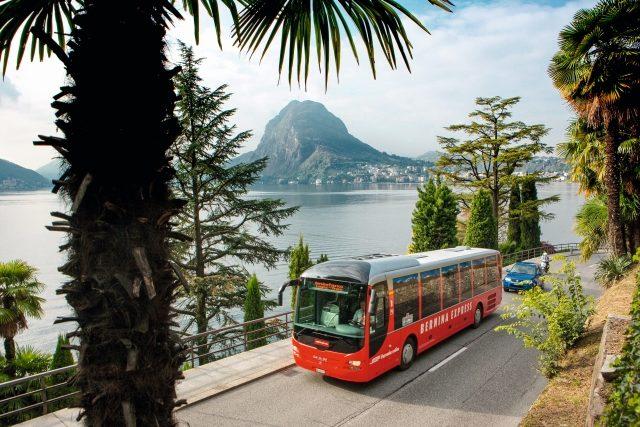 Bernina Express Bus (C)RhB/ChrSonderegger
