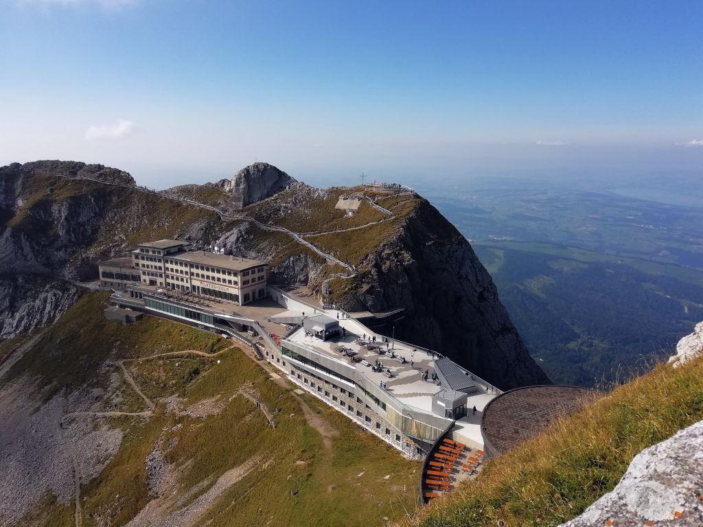 Bergstation Pilatus (C)Bahnurlaub.de