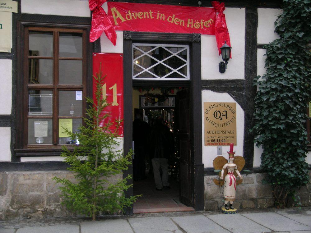 Quedlinburg, Advent in den Höfen © Hajotthu