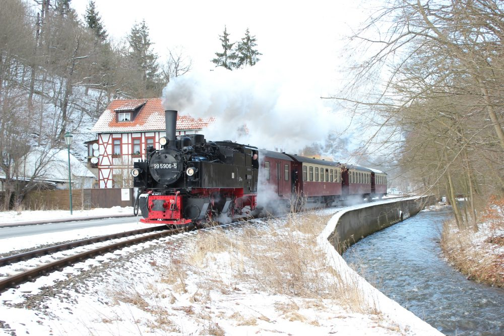 Selketalbahn in Alexisbad © S. Frenzel