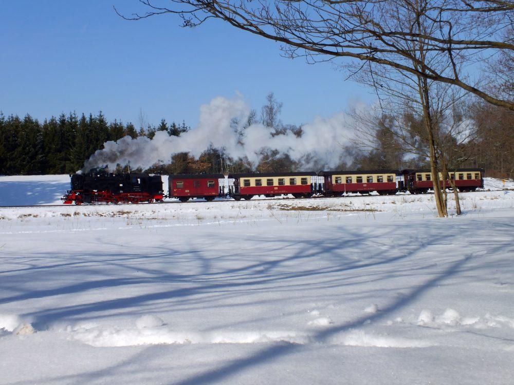 Winterfahrt © Freundeskreis Selketalbahn