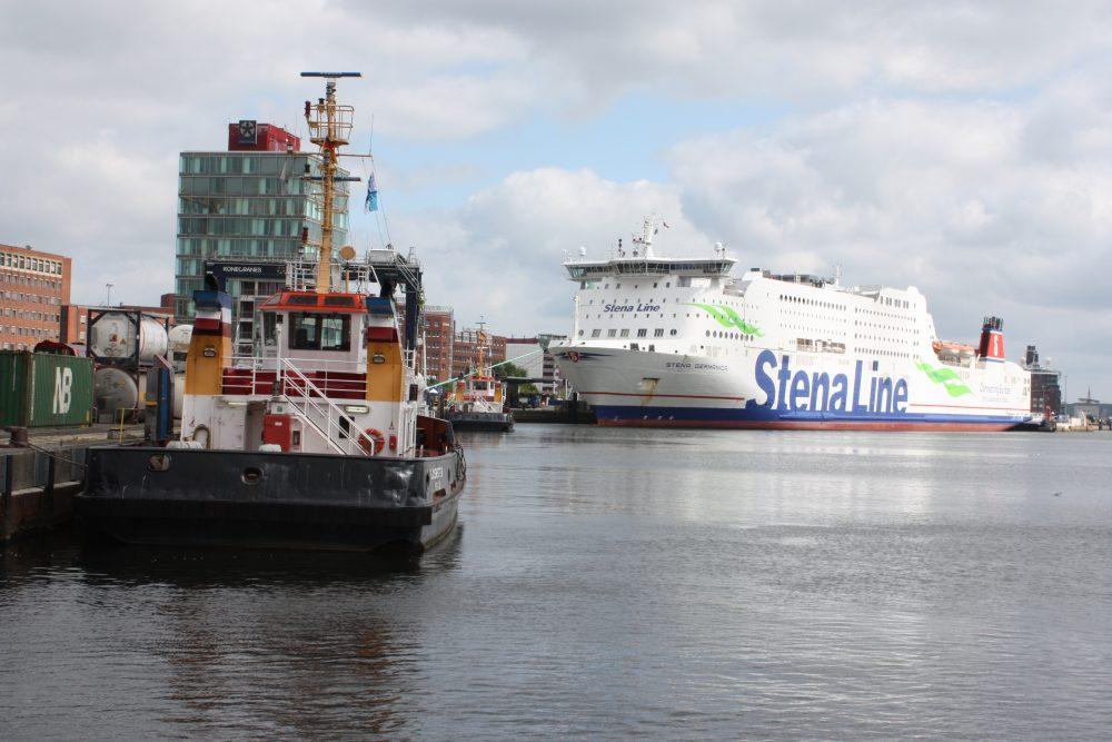 Fähre der Stena Line in Kiel © Matthias Costa