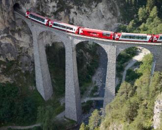 Glacier Express - Glacier-Express retour
