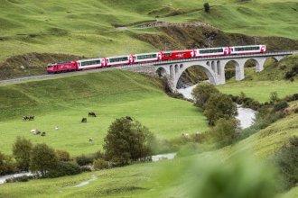 Glacier Express - Glacier Express ab/bis Chur