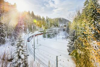 Glacier Express - Zauberhafter Winter Schweiz