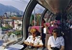 Panoramawagen bei Bellinzona
