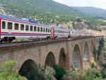 auf dem Varda-Viadukt