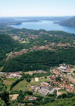 Ausblick auf den Lago Maggiore